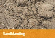 Sandblanding